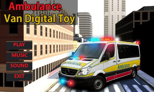 救護車麵包車數碼玩具