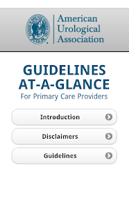 Urology Guidelines PrimaryCare- screenshot thumbnail