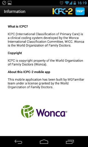 【免費醫療App】ICPC-2-APP點子