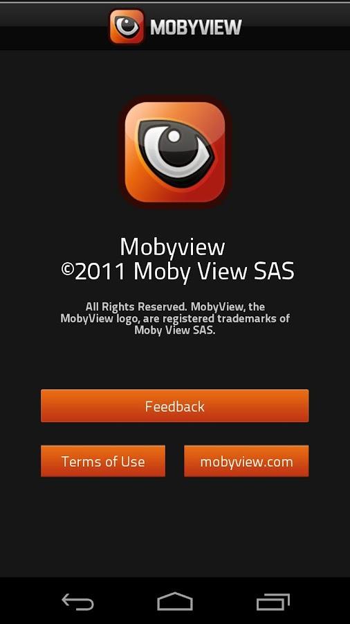 Mobyviewer– Capture d'écran