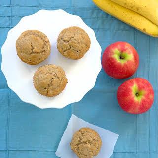 Banana-Apple Cinnamon Muffins.
