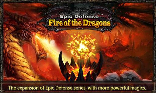 Epic Defense - Fire of Dragon 1.2.0 screenshots 1
