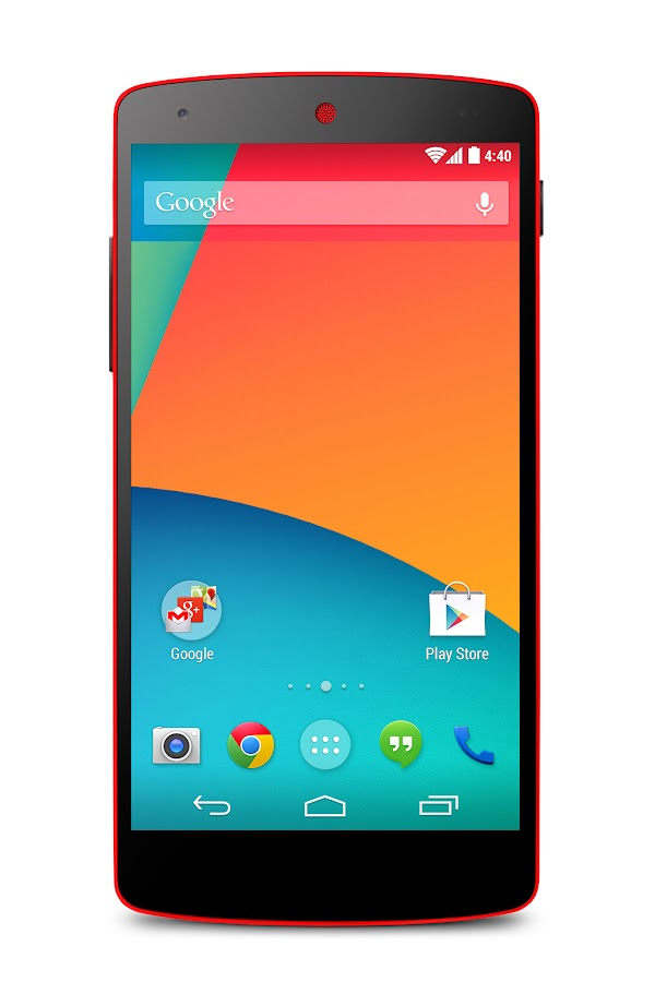 Nexus 5 (16GB, Bright Red) - screenshot
