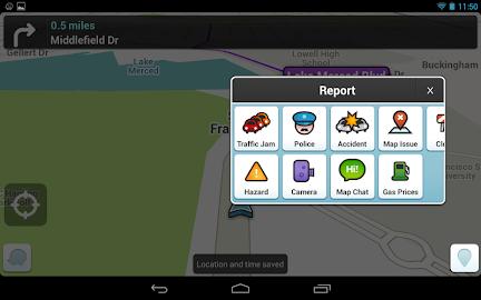 Waze - GPS, Maps & Traffic Screenshot 24