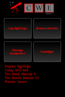 Stargazing Log- screenshot thumbnail
