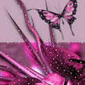 Flower and Butterfly Live Wall logo