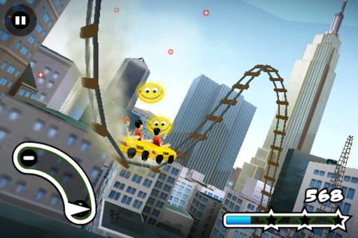 3D Rollercoaster Rush NewYork 1.6.10 screenshots 3