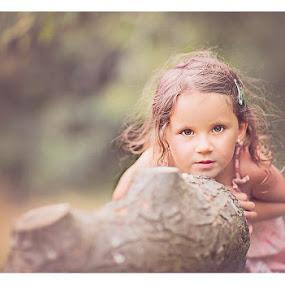 girl  by Szymon Stasiak - Babies & Children Child Portraits ( children portrait, color, outdoor, portrait )