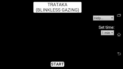 Trataka - Blinkless Gazing