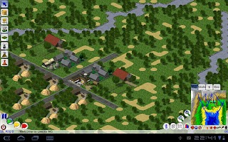Screenshot of Lincity4droid