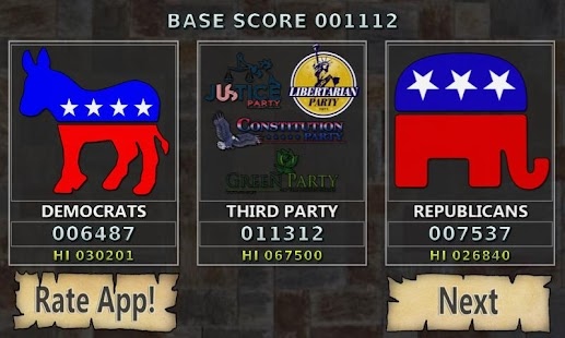 Whack a Candidate: Election'12 - screenshot thumbnail