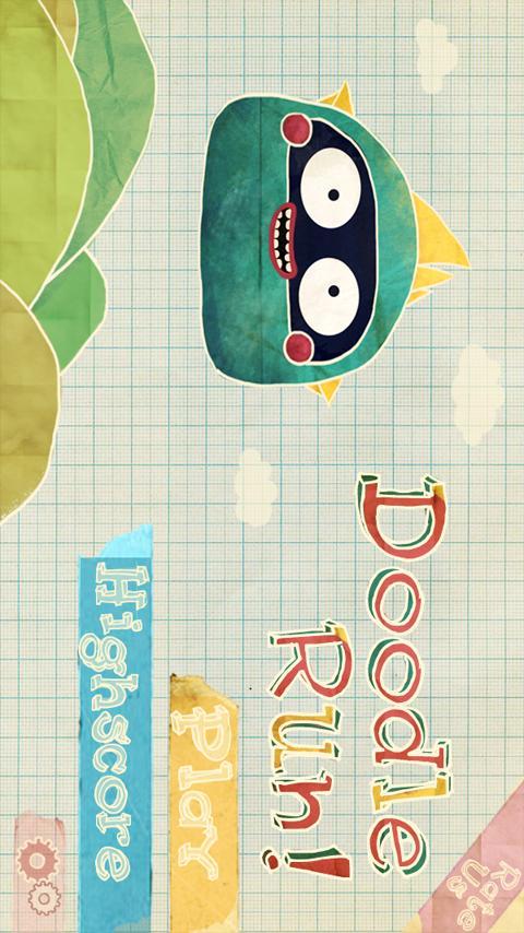 Doodle Run 2 - screenshot
