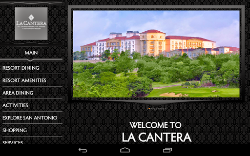 La Cantera Resort SA Tablet