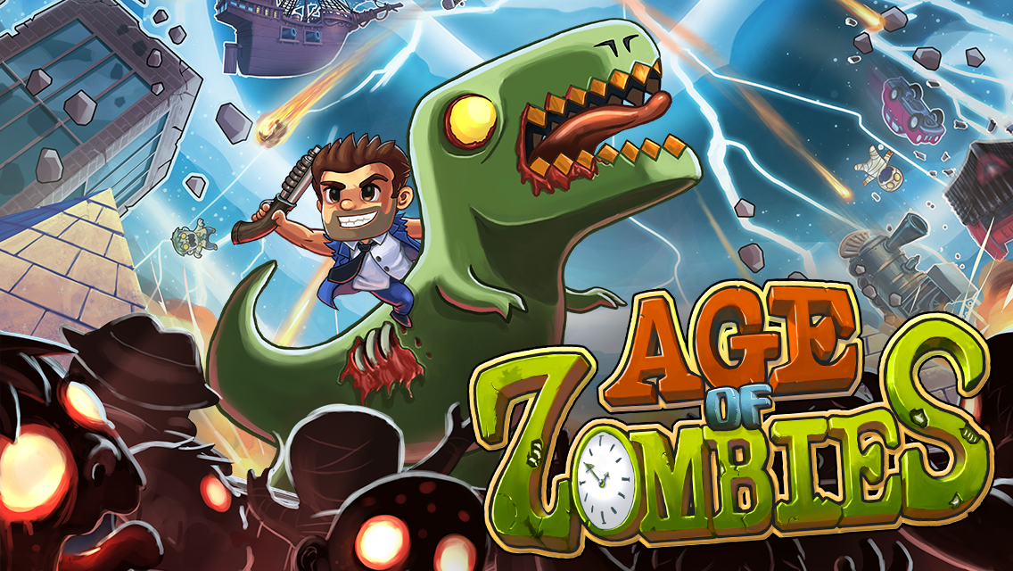 Age of Zombies- screenshot