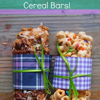 Cereal Bars - On The Go Breakfast!.