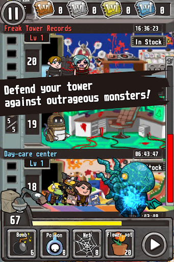 Freak Tower English