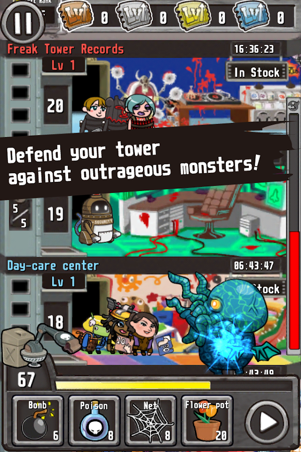 Freak Tower (English)- screenshot