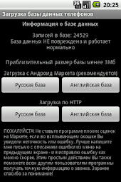 WCPT Phones DB (Russian)