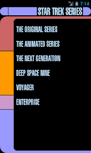 Series of Star Trek- screenshot thumbnail