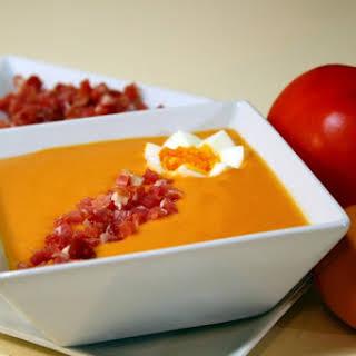 Salmorejo Cordobes: Cold Tomato Soup from Cordoba.