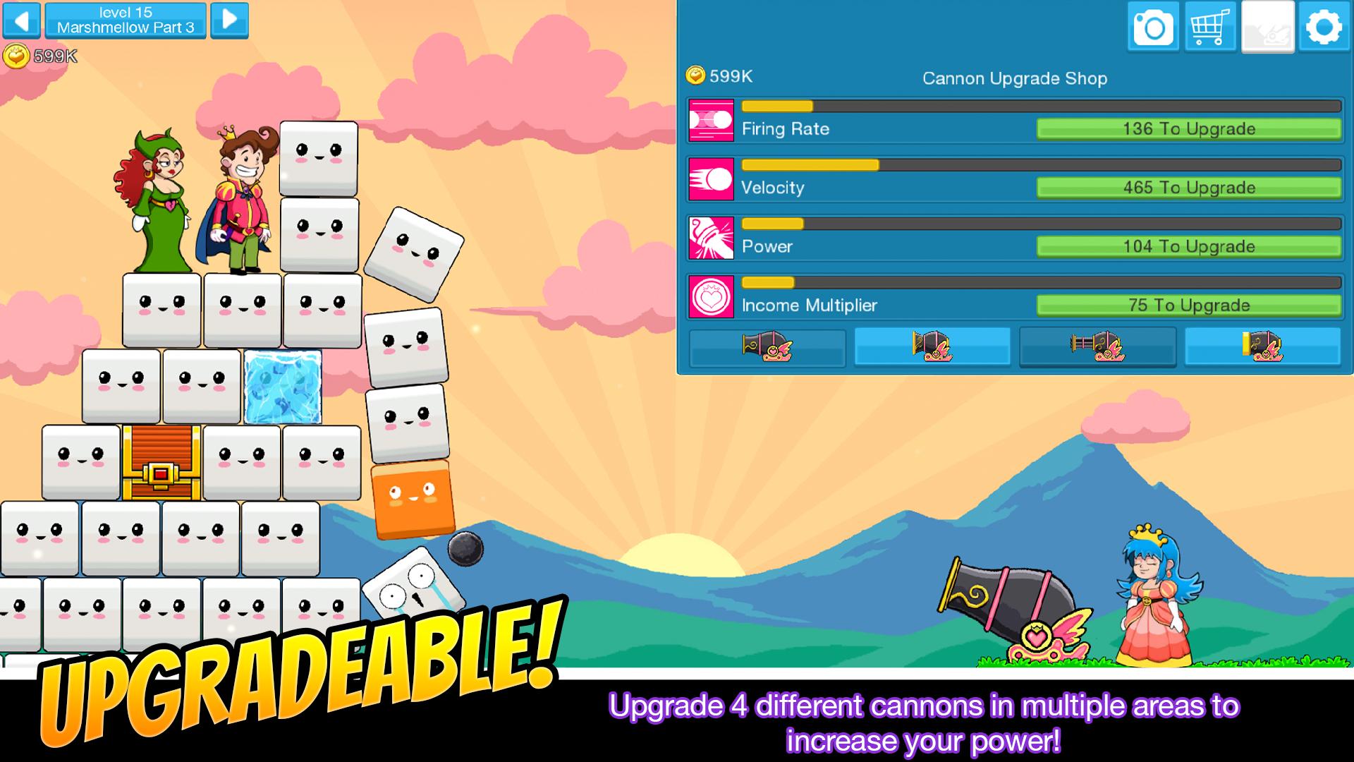 Princess Pow: Castle Smash screenshot #2