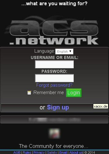 Social Network xaCsx- screenshot