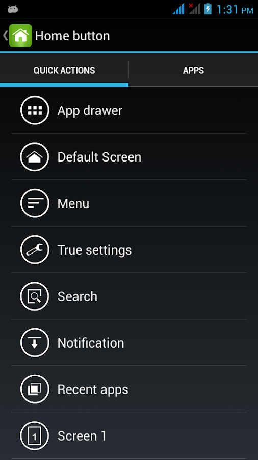 True Launcher - screenshot