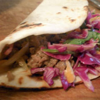 Kogi-Inspired Bulgogi Tacos with Spicy Slaw