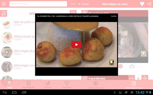 Que cocino hoy? Recetas cocina- screenshot thumbnail
