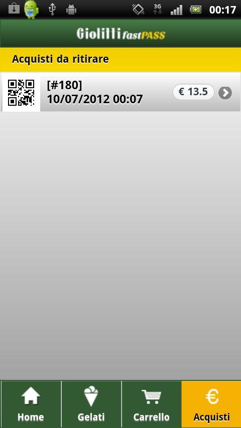 Giolitti FastPass- screenshot
