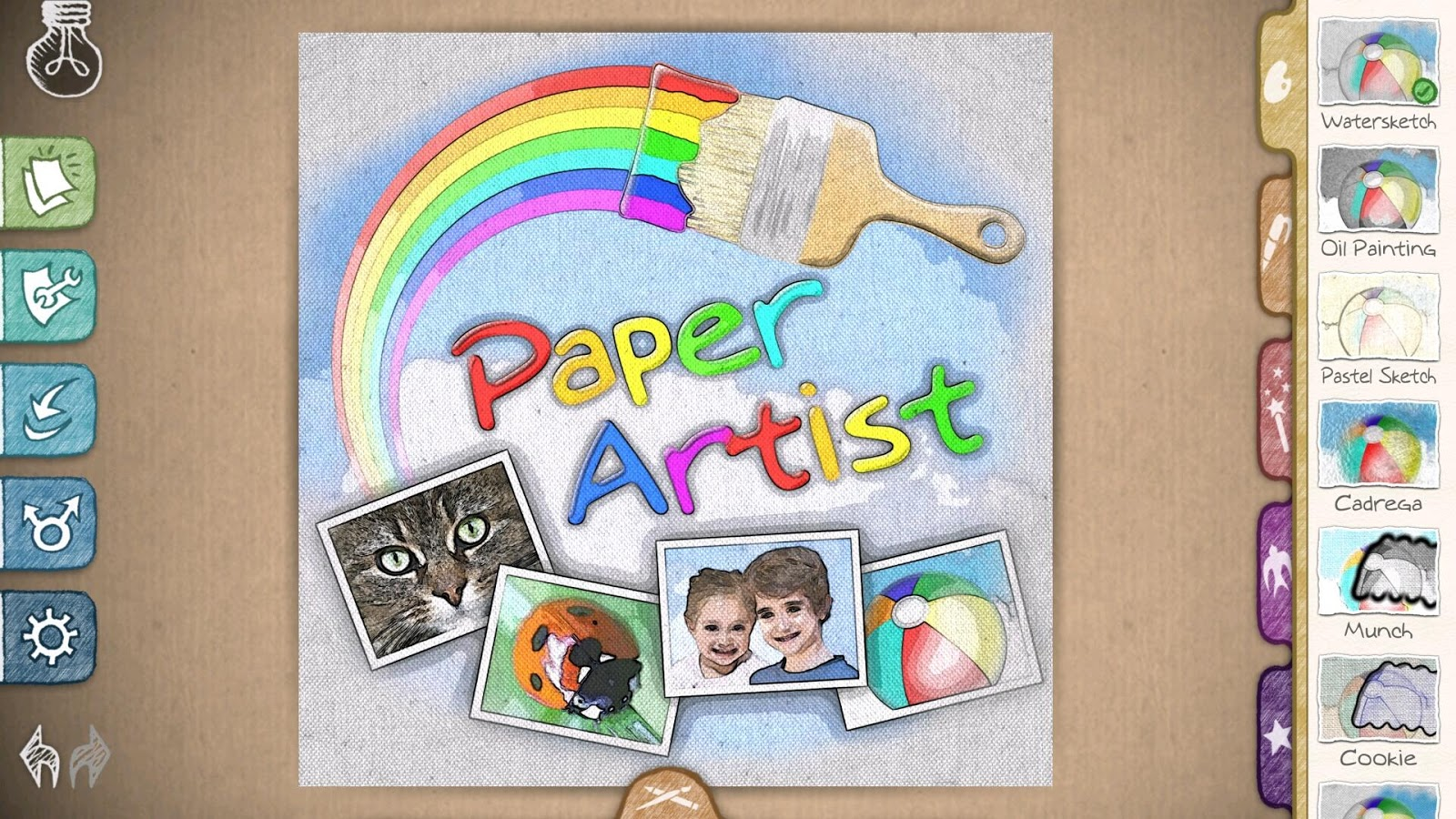 Paper Artist - screenshot