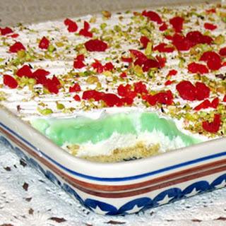 Pistachio Cream Pie.