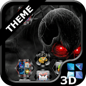 Next Launcher Skull Theme