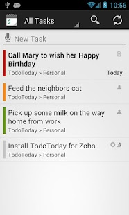 TodoToday for Zoho Projects- screenshot thumbnail