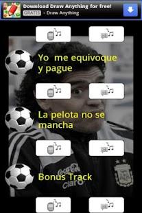 La botonera de Diego Maradona - screenshot thumbnail