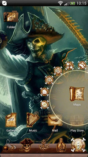 Next Launcher Pirate Theme