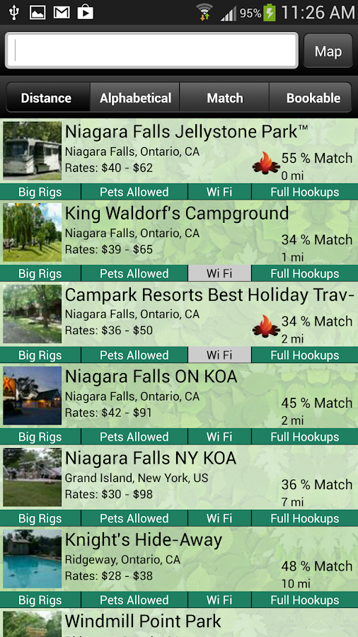 BYS™ - RV Camping Reservation- screenshot