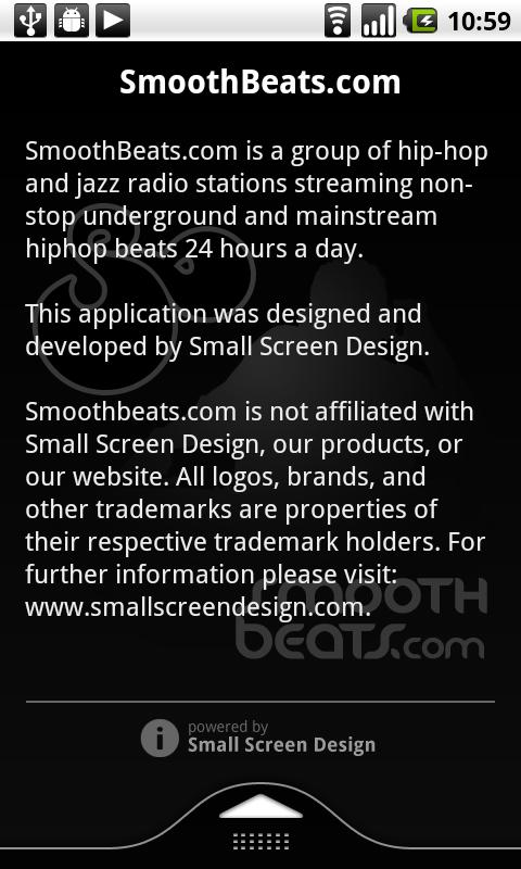 SmoothBeats.com Radio- screenshot