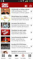 Screenshot of CNN Türk