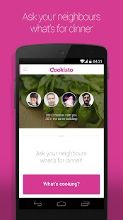 Cookisto – Meals by neighbours- screenshot thumbnail