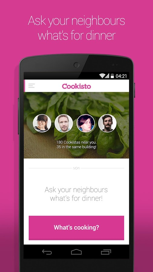 Cookisto – Meals by neighbours- screenshot