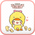 BeBe(Chick) Go Launcher theme icon