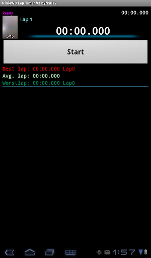 Mini4WD Lap Timer V2 byNSDev 1.2.3 Windows u7528 7