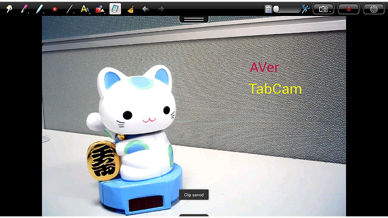 TabCam - screenshot