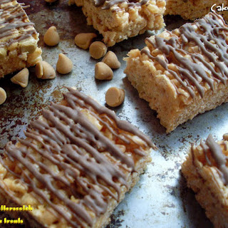 Banana Butterscotch Rice Krispie Treats