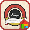 VintageLabel LINELaunchertheme icon