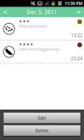 Screenshot of Poop Diary