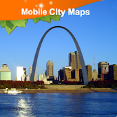 Saint Louis Street Map