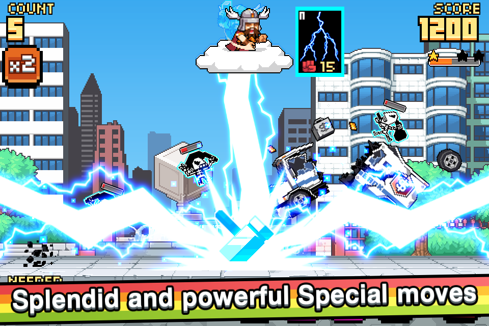 God Strike 2- screenshot