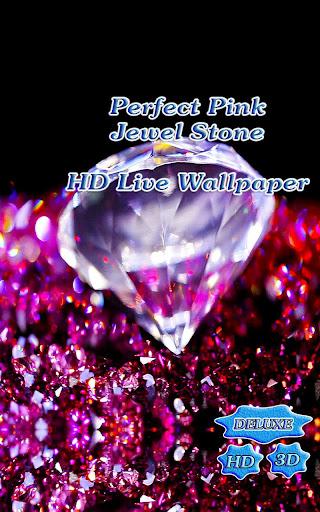 Perfect Pink Jewel Chic Stone